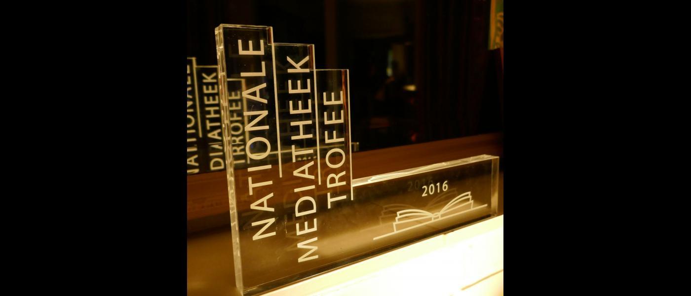 Mediatheek trofee 2016 voor Rijnlands Lyceum Sassenheim