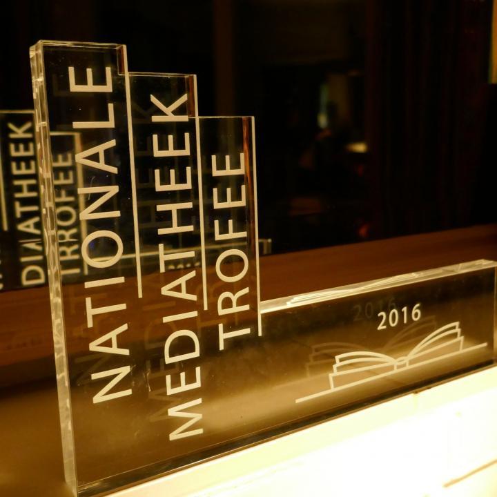 Nationale Mediatheek Trofee 2016 voor het Rijnlands Lyceum Sassenheim